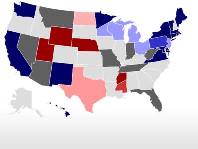 RealClearPolitics - 2018 Election Maps - Battle for the Senate 2018